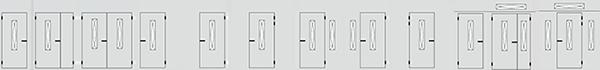 Варианты установки входной двери со стекло-пакетом S1
