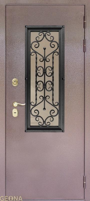 Дверное полотно СТЕКЛОПАКЕТ S2, brand = Геона, price=43800