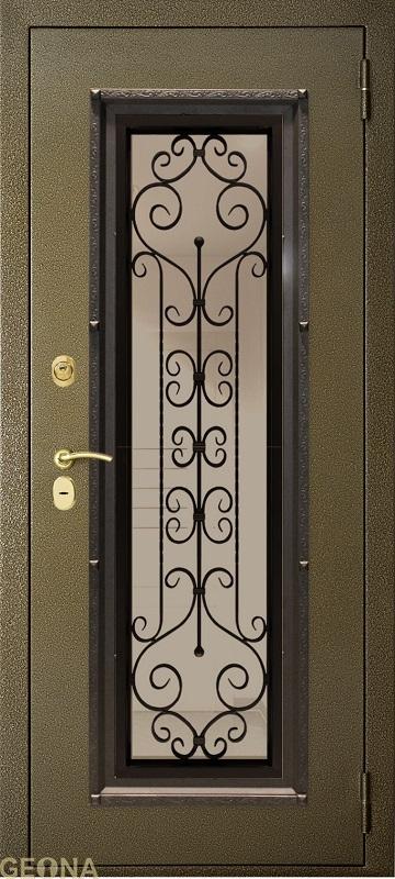 Дверное полотно СТЕКЛОПАКЕТ S3, brand = Геона, price=45300