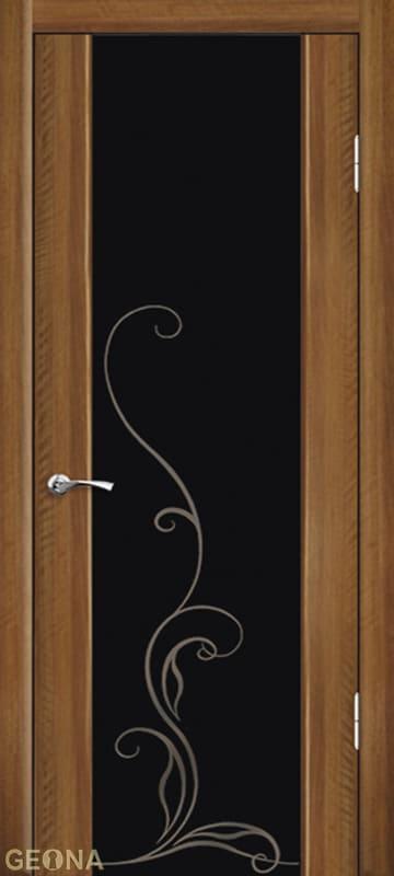 Дверное полотно ЛЮКС 1 С ГРАВИРОВКОЙ, brand = Геона, price=13300