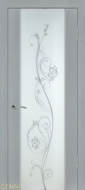 Дверное полотно ЛЮКС 1 «МАКИ», brand = Геона, price=13800