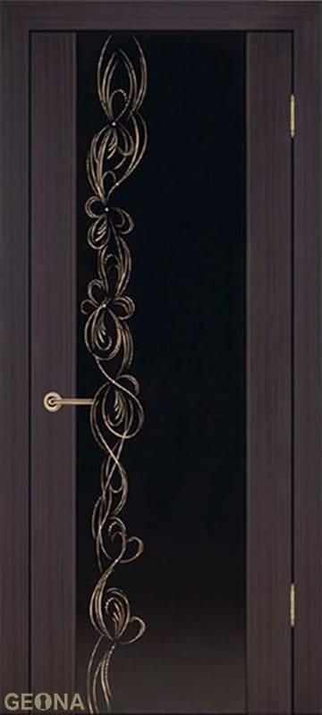 Дверное полотно ЛЮКС 1 «МОККА», brand = Геона, price=13300