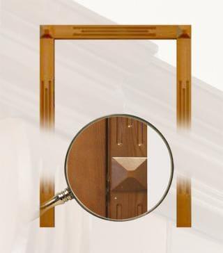 Дверное полотно Портал №9, brand = doors-ola, price=3200