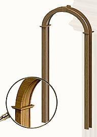 Дверное полотно Арка ЭКОНОМ, brand = doors-ola, price=10000