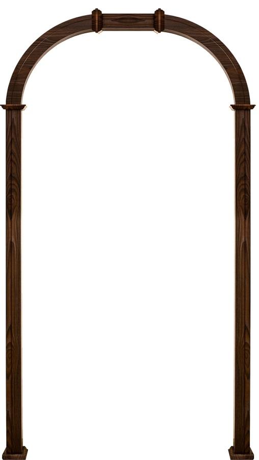 Дверное полотно АРКА КРУГЛАЯ РАСШИРЕННАЯ, brand = Геона, price=7500